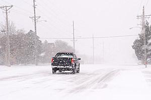 """Historic"" Blizzard Sweeps Through Texas Panhandle"