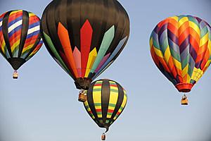 Hot Air Balloons Descend On Readington, NJ For Ballooning Festival