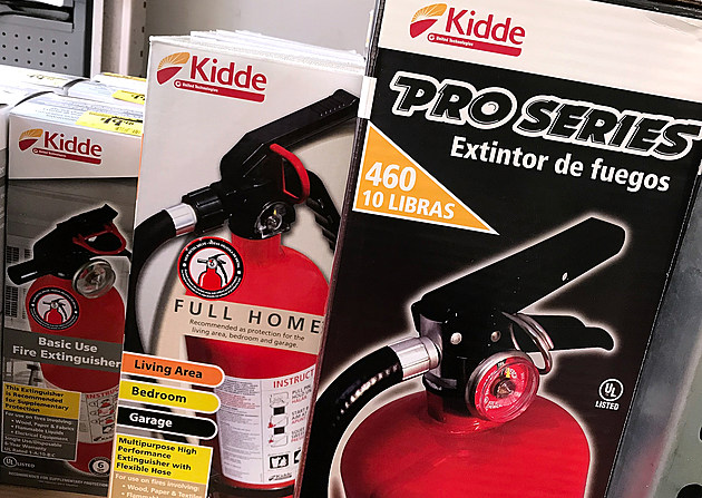 Over 40 Million Fire Extinguishers Subjected To Massive Recall